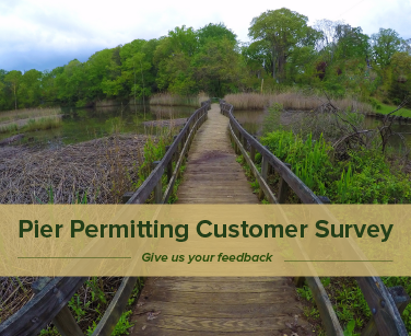 Pier Permitting Customer Survey