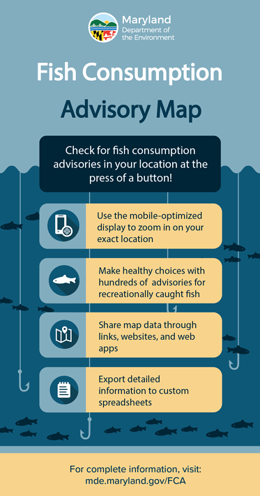 Fish Consumption Advisory Map - Check for fish consumption advisories in your location at the press of a button!