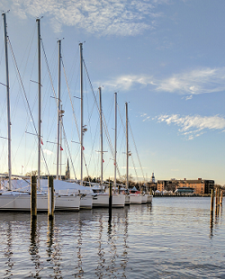 Sailboats in Spa Creek