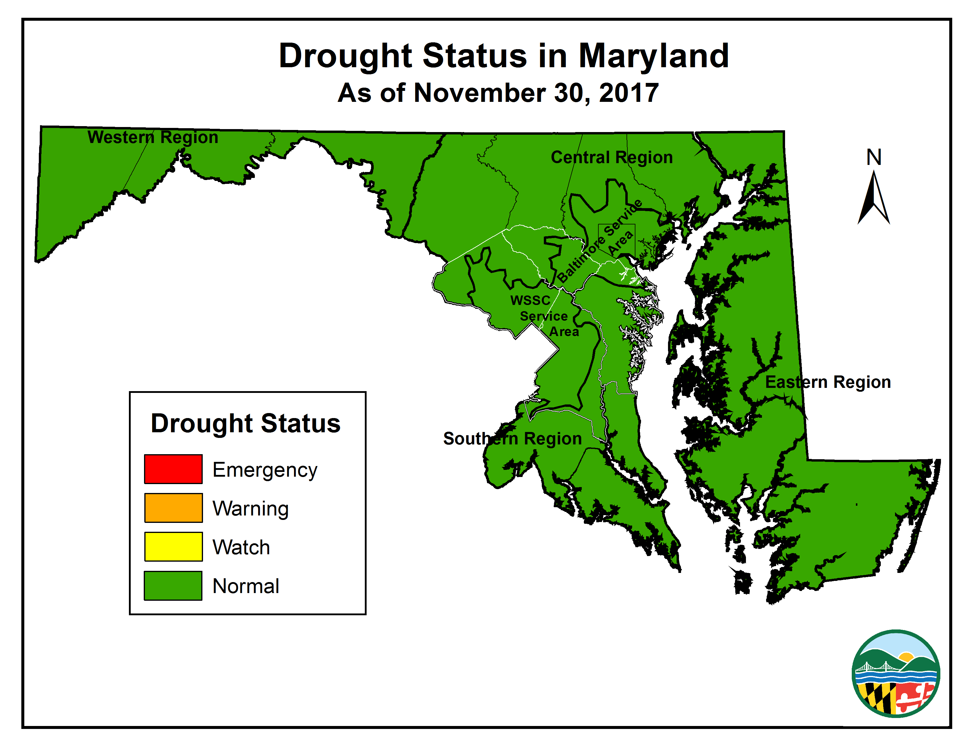 Drought Status as of 2017-06-30